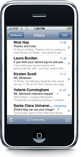 email on your iPhone